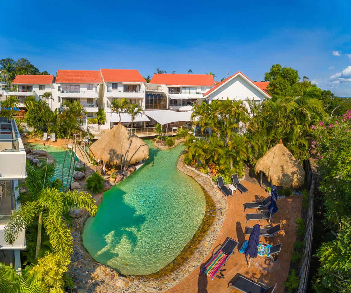 Noosa International Resort Skypix Aerial Photography